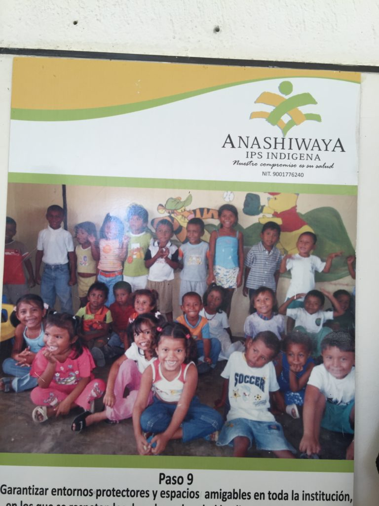 HIMM in Guajira Colombia at the ANASHIWAYA Clinic Hospital serving the Indigenous WAYUU